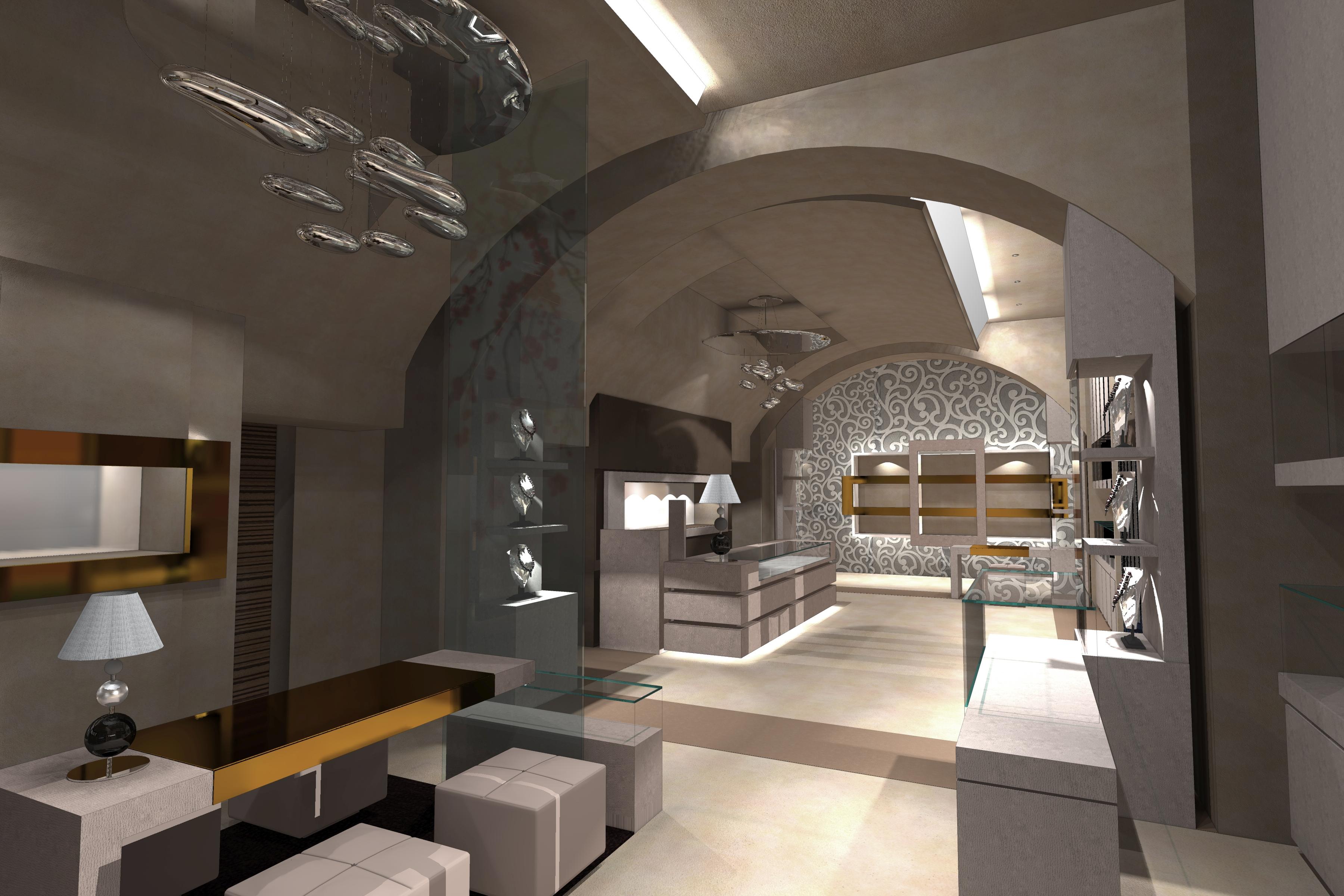 Gioielleria b a design architettura e produzione